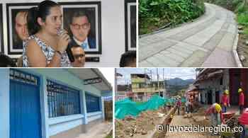 Significativas inversiones en infraestructura, ejecutó la Alcaldía de Saladoblanco - Noticias
