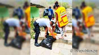 Lambayeque: policías de Motupe realizan jornada de limpieza en el caserío Salitral - LaRepública.pe