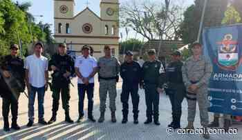 Autoridades de Bolívar adelantaron campaña anti extorsión en Arjona - Caracol Radio