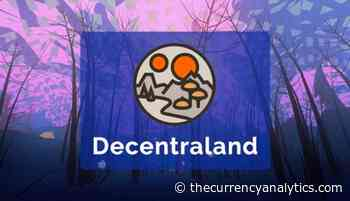 MANA is an ERC20 Token Used to Buy Land in Decentraland Virtual Gaming World - The Cryptocurrency Analytics