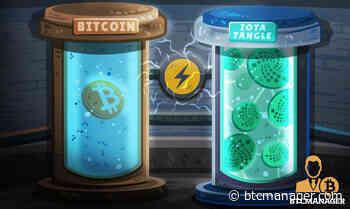 IOTA (MIOTA) Tangle Technology Uses Far Less Energy Than Bitcoin (BTC) - BTCMANAGER