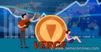 Verge (XVG) Price Movement Reverses Yesterday's Trend - NameCoinNews