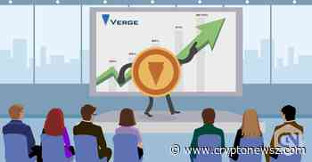 Verge Price Analysis: XVG Coin Is All Set For A Price Recovery - CryptoNewsZ