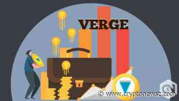 Verge Price Analysis: Verge (XVG) Failed to Amaze the Market Yesterday; Grew by Just 0.53% - CryptoNewsZ