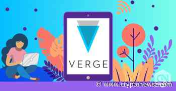 Verge Price Analysis: Verge (XVG) Gains a Mammoth 5.5% over a Day - CryptoNewsZ