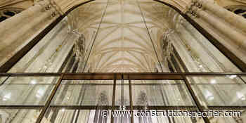 Seele group awarded for interior glazing of New York's St. Patrick's Cathedral - The Construction Specifier