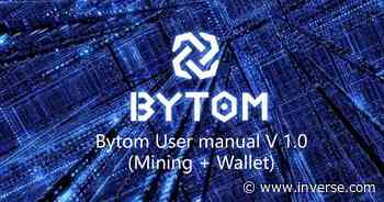 Bytom Cryptocurrency: BTM Price Is Surging After a Big Mining Upgrade - Inverse