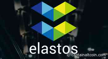 If you can ignore the price, Elastos (ELA) is where you want to be - CaptainAltcoin