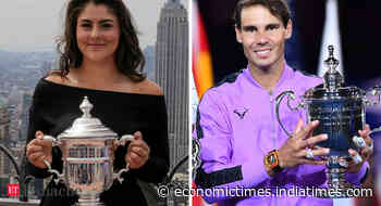 Relationship vitae: How dogs and wins show Bianca Andreescu & Rafael Nadal are the same people - Economic Times