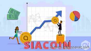 Price Analysis of Siacoin (SC) as on 22nd May 2019 - CryptoNewsZ