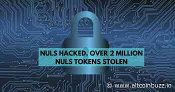 NULS Hacked. $480 Worth of NULS Token Stolen - Cryptocurrency Regulation - Altcoin Buzz