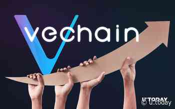 VeChain (VET) Price Briefly Surges 21 Percent on Big News From China - U.Today
