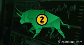 Zcash Price Analysis - ZEC Reaches New Monthly High - CoinCodex