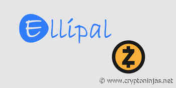 ELLIPAL now supports Zcash (ZEC) for cold storage and trading - CryptoNinjas