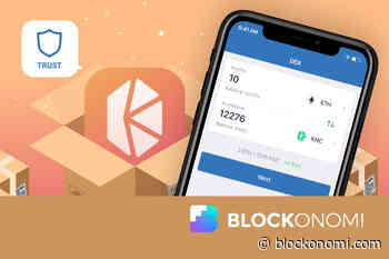 Binance Turns to Kyber Network (KNC) to DEX Out Its Trust Wallet - Blockonomi