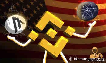 Binance.US Set to Launch Algorand (ALGO) and Cosmos (ATOM) Staking - BTCMANAGER