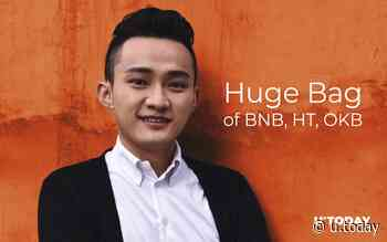 Tron CEO Justin Sun Reveals Holding 'Huge Bag' of BNB, HT, OKB - Will Huobi and OKEx Become New Tron - U.Today