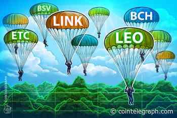 Top-5 Crypto Performers: LINK, LEO, BCH, ETC, BSV, OKB* - Cointelegraph