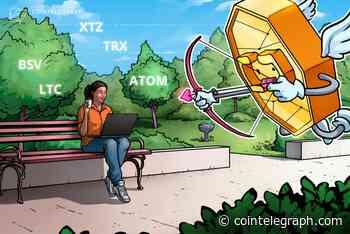 Top-5 Crypto Performers: BSV, XTZ, TRX, LTC, ATOM, OKB* - Cointelegraph