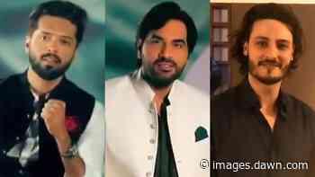 Fahad Mustafa, Humayun Saeed, OKB and more are ready for Pakistan Day - DAWN.com