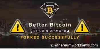Bitcoin Diamond (BCD) The only Gainer Among the Top 100 Cryptos, Rises +105% In 24 Hours - Ethereum World News