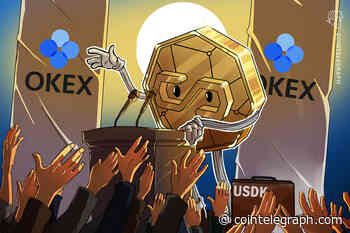 OKLink to Launch USD-Pegged Stablecoin USDK on OKEx Exchange Platform - Cointelegraph