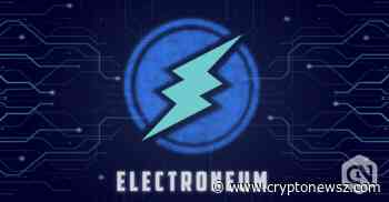 Electroneum Price Analysis: Electroneum (ETN) Price Plunges in the Intraday Market; No Indication of Recovery - CryptoNewsZ