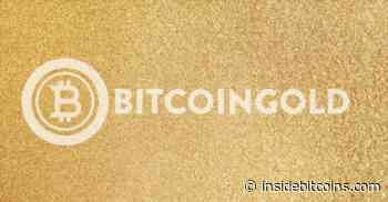Bitcoin Gold Price Analysis: Bitcoin Gold (BTG) at its Lowest - Inside Bitcoins
