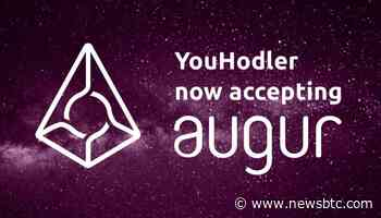 Augur (REP): First Token to Join YouHodler Platform Launches Today - newsBTC
