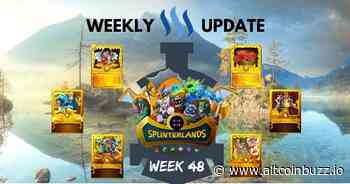 Full Steem Ahead with Splinterlands: Week 48 - Game Launches & Updates - Altcoin Buzz