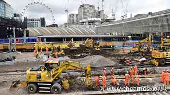 Delays loom as Network Rail falls behind before £42bn upgrade starts - The Times