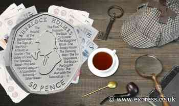 eBay: 'Rare' Sherlock Holmes 50p coin listed for whopping £14,000 - should you act fast? - Express
