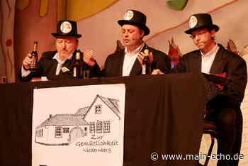 Fünfstündige Prunksitzung begeistert 800 Narrhallesen in Niedernberg - Main-Echo