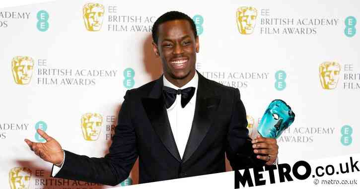 Top Boy's Michael Ward fanboys over Al Pacino and Robert De Niro after Baftas win