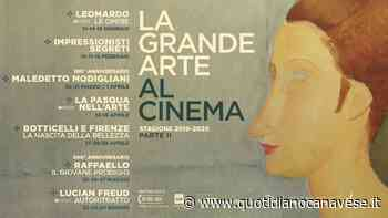 VALPERGA - La Grande Arte al Cinema con Nexo Digital - QC QuotidianoCanavese