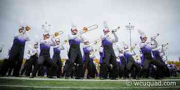 WCU Marching Band at Eagles playoff game - Quad