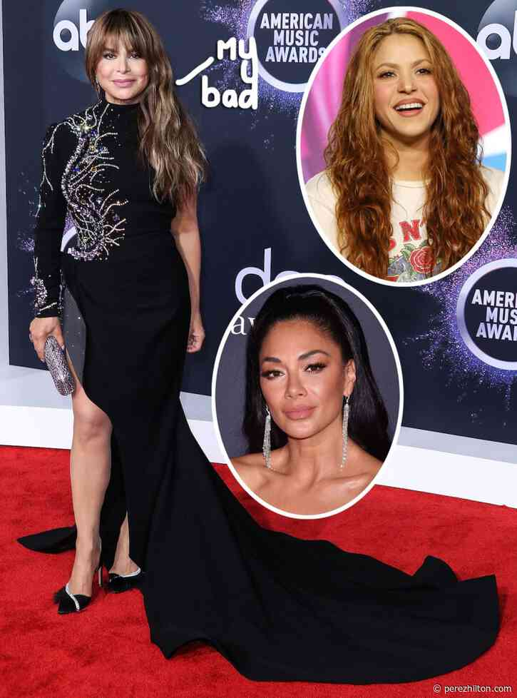 Nicole Scherzinger Has The Best Response When Paula Abdul Seemingly Confuses Her With Shakira Ahead Of Super Bowl Halftime Show!