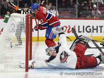 Ste-Agathe's Dubois scores twice to lead Columbus over Canadiens - Montreal Gazette