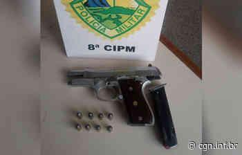 Vítima reage a assalto e atira em suspeito em Imbituva - CGN