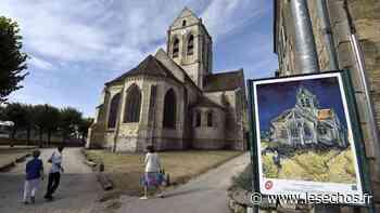 Effondrement d'un mur de l'église d'Auvers-sur-Oise - Les Échos
