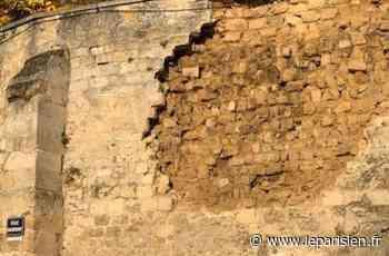 Un mur de l'église d'Auvers-sur-Oise s'effondre en partie - Le Parisien