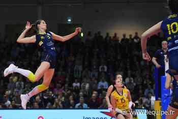 Ligue A (F) : Nantes solide à Marcq-en-Baroeul, Terville-Florange se relance - Volley - Ligue A (F) - L'Équipe.fr