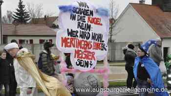 Grau der Himmel, bunt die Narren im Faschingsumzug - Augsburger Allgemeine