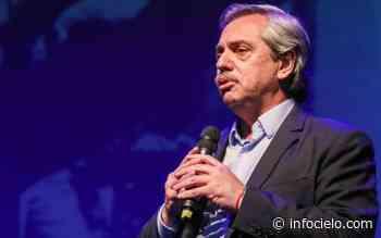 """Seguilo en vivo: Alberto Fernández presenta el programa """"Hacer Trabajo"""" en San Fernando - Infocielo"""