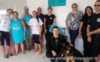 Servidores da Penitenciária de Arroio dos Ratos doam 300 kilos de alimentos para ONG que mantém projeto educacional infantil - Portal de Camaquã