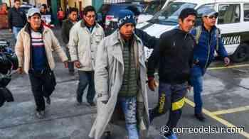 Envían a la cárcel a ocho aprehendidos por la violencia en Chulumani - Correo del Sur