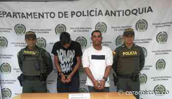 Capturan dos venezolanos en Marinilla, Antioquia - Caracol Radio
