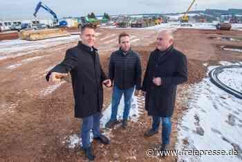 Pro-Beam Systems: Neubau in Stollberg liegt gut im Zeitplan - Freie Presse