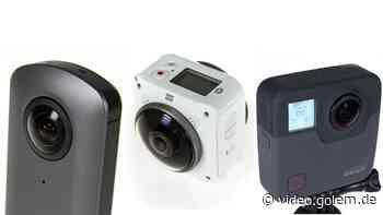 Ricoh Theta V, Kodak Pixpro 4KVR360 und Gopro Fusion - Test - Golem.de