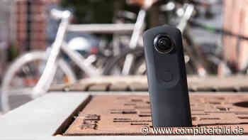 Ricoh Theta S: 360-Grad-Kamera im Test - AUDIO VIDEO FOTO BILD - COMPUTER BILD